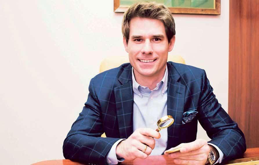 Michał Niemczyk, właściciel wiodącego domu aukcyjnego na rynku numizmatów