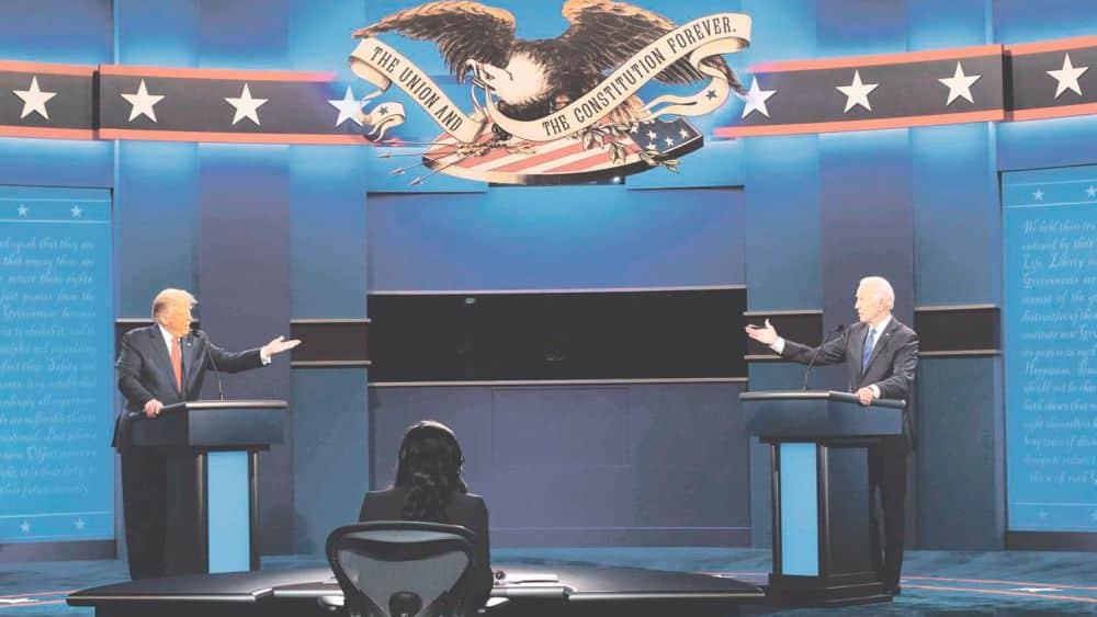 amerykańskie wybory debata